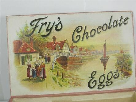 Fry family invented both easter egg and water supply
