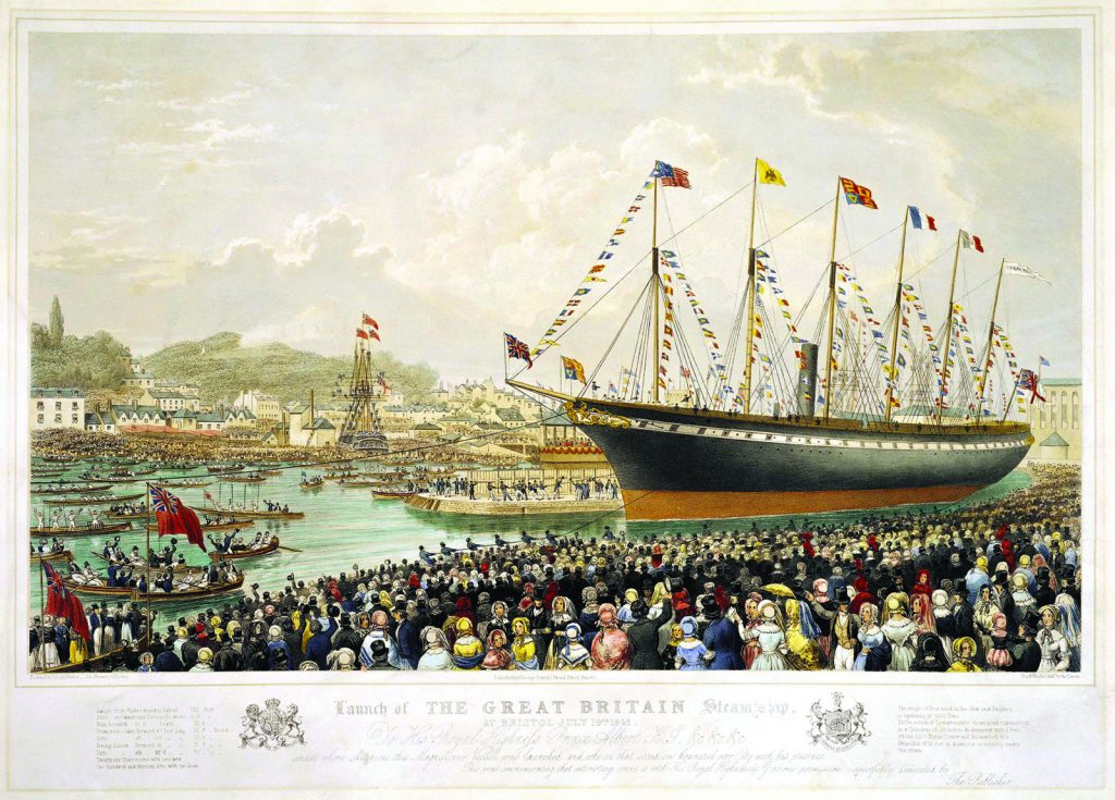 ssgreatbritain_launch_of_the_great_britain_steamship-1024x735